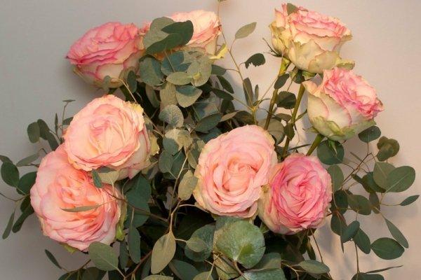 Bouquet de rose détail