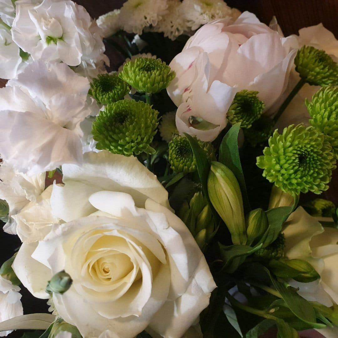 Achat Bouquet de Fleurs Blanches à Chambéry | Côté Naturel