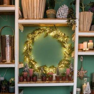 """Décoration de Noël """"Printemps sous la Neige"""""""